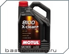 Motul 8100 X-clean plus 5W30 5л.